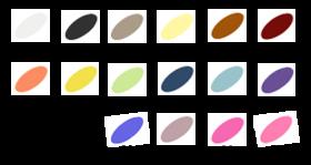デュオマチック レフィル カラー